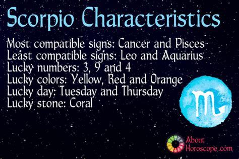 Scorpio Traits, Personality And Characteristics