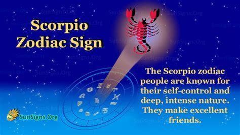 Scorpio Zodiac Sign Facts, Traits, Money and Compatibility ...