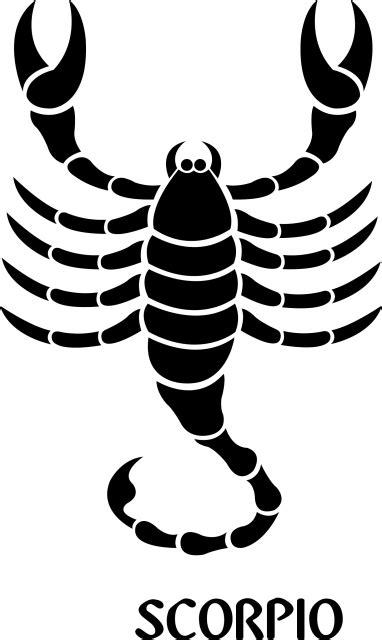 Scorpio Zodiac Sign Symbol Premium Removable Wall Decal ...