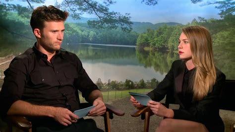 Scott Eastwood: Entrevista sobre la película El viaje más ...