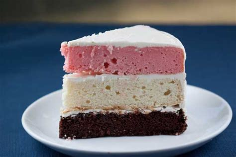 Scratch Neapolitan Layer Cake   Cookie Madness
