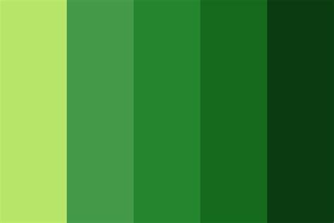 screaming green Color Palette