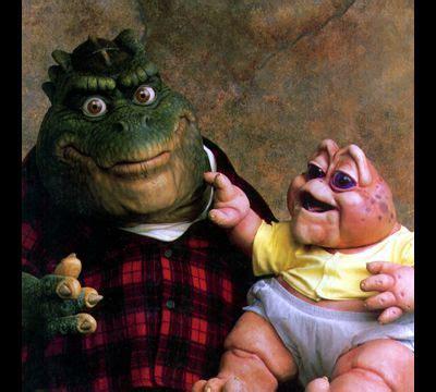 Se acuerdan del papá en Dinosaurios y el bebé Sinclair ...