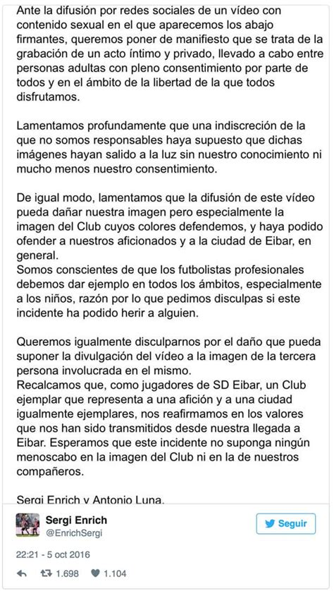 Se filtra un vídeo sexual de dos jugadores de La Liga con ...