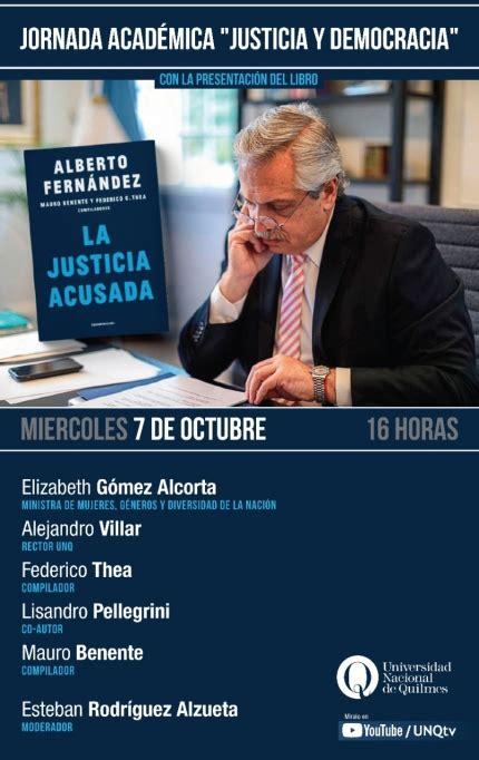 """Se presentará en la Universidad de Quilmes el libro """"La ..."""