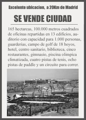 Se vende ciudad en Madrid   cotizalia.com