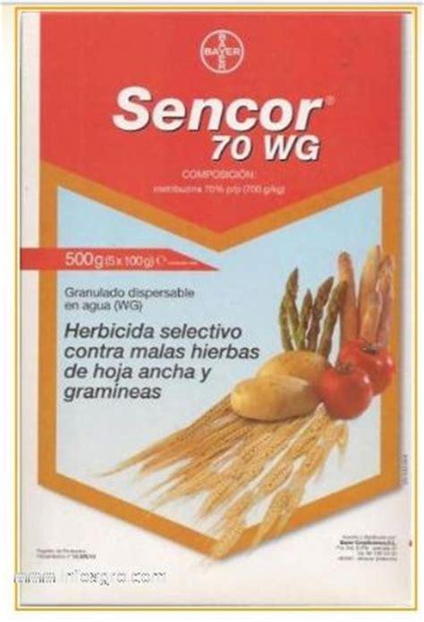 Se vende sencor 70 wg  metribuzina 70% . envase 500 gramos ...