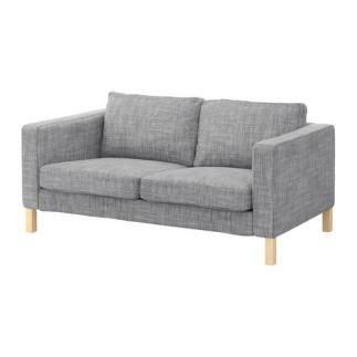 Se vende Sofá 2 plazas, Isunda gris, IKEA SEGUNDA MANO ...