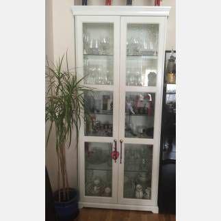 Se vende Vitrina color blanco, IKEA SEGUNDA MANO serie ...