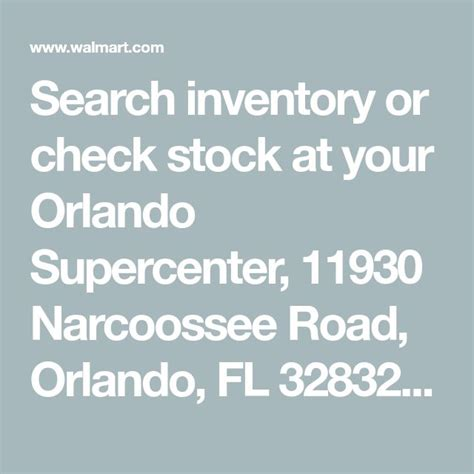 Search inventory or check stock at your Orlando ...