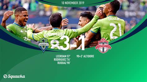 Seattle Sounders 3 1 Toronto FC:  Mr Play offs  Ruidiaz ...
