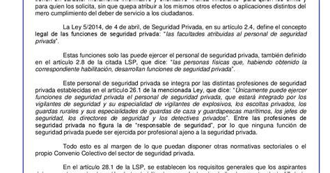 SECCIO SINDICAL UGT SECURITAS CATALUNYA: Informe UCSP N ...