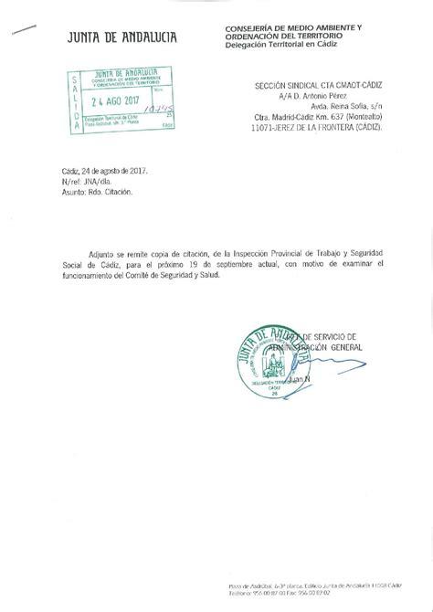 Seccion Sindical CTA, en Consejeria de Agricultura ...