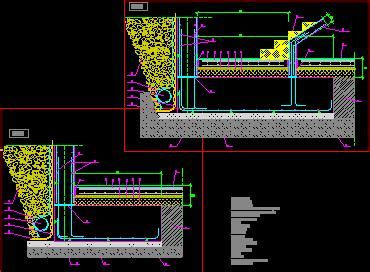 Sección zapata muro en AutoCAD | Descargar CAD  89 KB ...