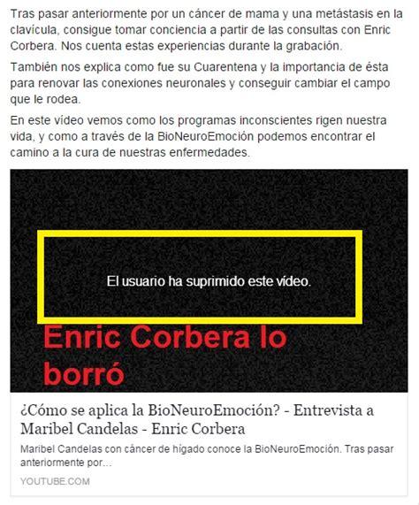 SECTA Bioneuroemoción, Enric Corbera y la FALSA de cura de ...