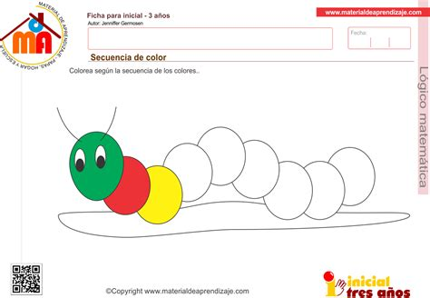Secuencia de color para niños a partir de los 3 años ...