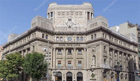Sede da Caixa Catalunya — Fotografia de Stock Editorial ...