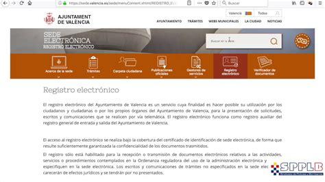 Sede electronica ayuntamiento valencia   YouTube