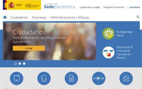 Sede Electrónica Seguridad Social → Como Registrarse Teléfono