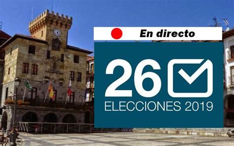 Seguimiento jornada electoral Elecciones Municipales 2019 ...