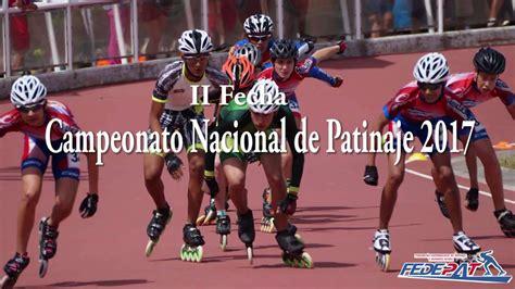 Segunda Fecha Campeonato Nacional de Patinaje de Velocidad ...