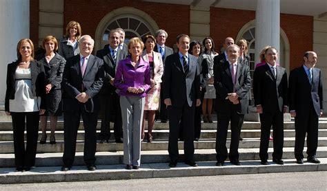 Segundo Gobierno de Zapatero en 2008.Tras las elecciones ...