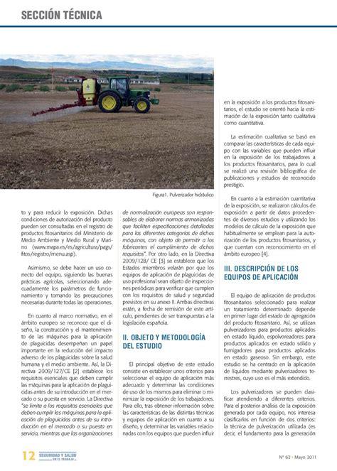 Seguridad y Salud en el Trabajo   Mayo 2011 by ...