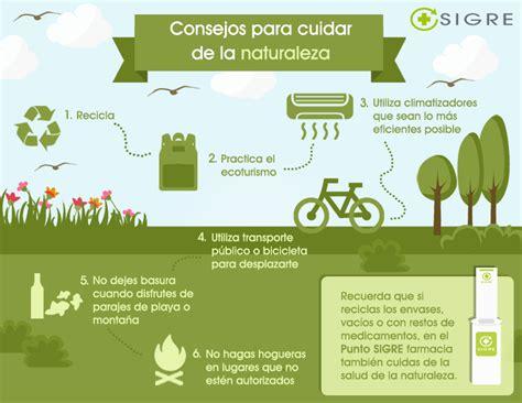 Seis consejos para cuidar del medio ambiente – Blog ...