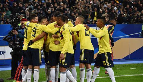 Selección Colombia superó a Francia en partido amistoso ...