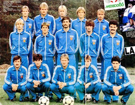SELECCIÓN DE ALEMANIA DEL ESTE en la temporada 1984 85