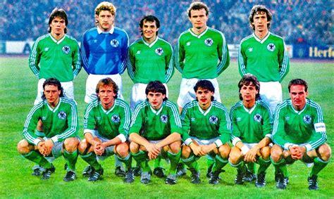 SELECCIÓN DE ALEMANIA FEDERAL en la temporada 1985 86 ...