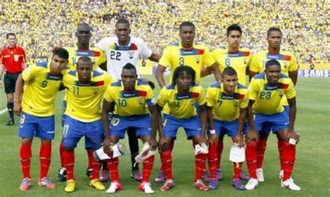 Selección de Ecuador es Nº 13 en el Ranking FIFA   La ...