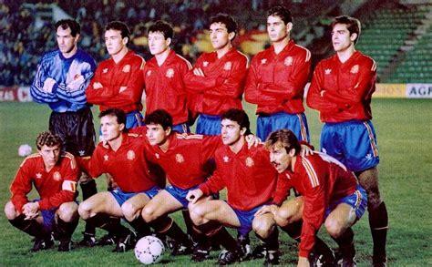 Selección de ESPAÑA desde la temporada 1990 91 a la 1993 ...