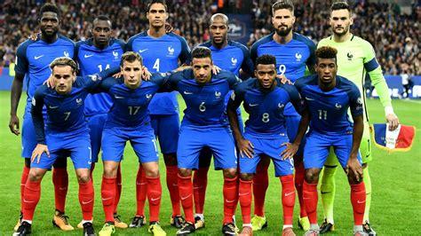 Selección de Francia: Músculo atrás y orden en el medio ...