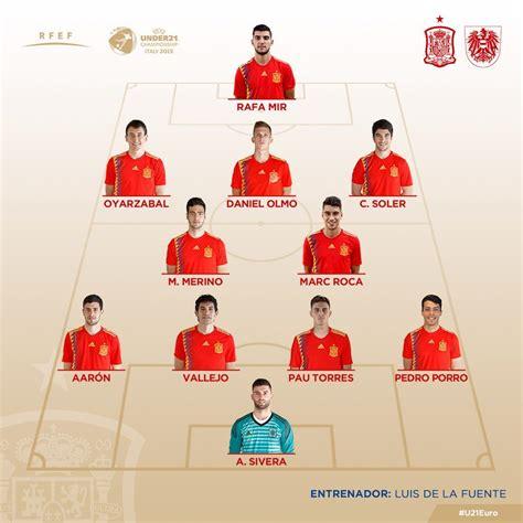 Selección Española: España sub 21 vs Austria sub 21, en ...