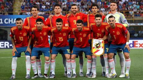 Selección española: Las cuentas de la Sub 21 para estar en ...