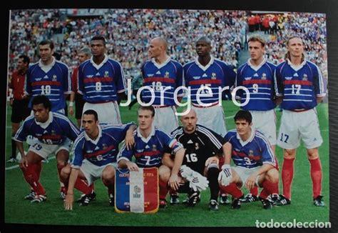 Selección francesa de fútbol. alineación campeó   Vendido ...