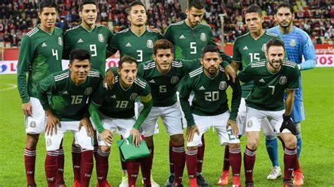 Selección Mexicana: La selección mexicana se mantiene en ...