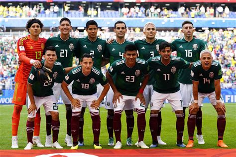 Selección mexicana lugar 12 del mundial y con ganancia de ...