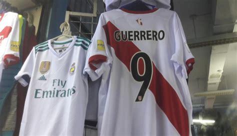 Selección peruana: Camiseta de Paolo Guerrero es una de ...