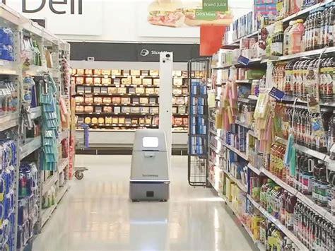 Select Walmart stores have autonomous robots that track ...