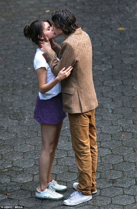 Selena Gomez kisses Timothee Chalamet for new film   Daily ...