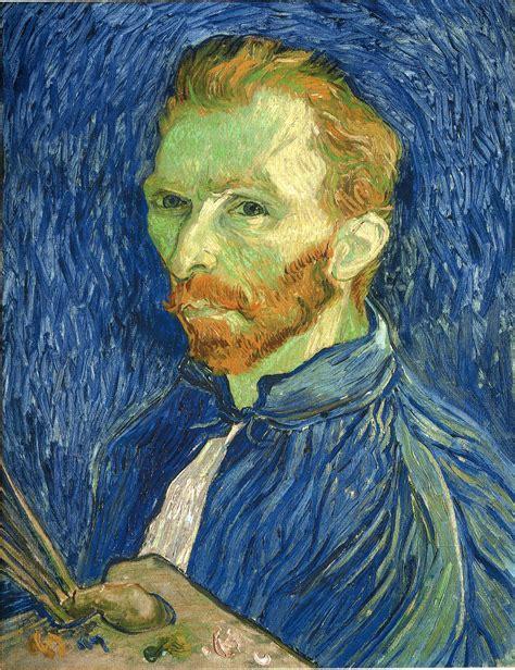 Self Portrait with Pallette, 1889   Vincent van Gogh ...
