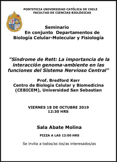 Seminario Departamentos Fisiología & Biología Celular y ...
