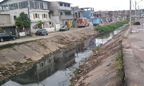 Sempre na Luta: Limpeza de canal no subúrbio é paralisada ...