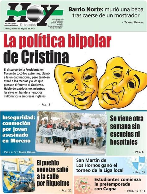 Señales: Nuevos despidos en el Diario Hoy de La Plata