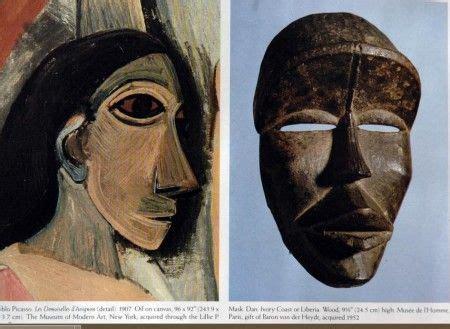 Señoritas de Avignon , Pablo Picasso, 1907.   Máscaras ...