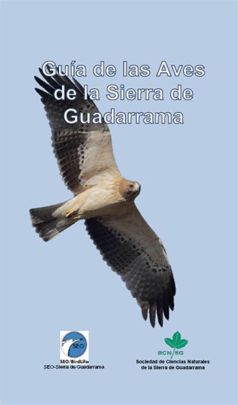 SEO SIERRA DE GUADARRAMA: GUIA DE LAS AVES DE LA SIERRA DE ...
