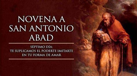 Séptimo Día de la Novena a San Antonio Abad en 2020 ...