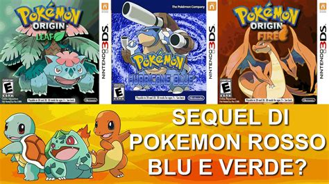 Sequel di Pokémon Rosso, Verde e Blu?   YouTube